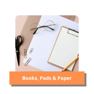 Books, Pads and Paper